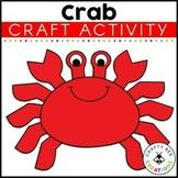 Crab Craft | Ocean Animals Activity | Sea Life | Ocean Habitat Activities