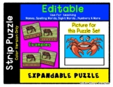 Crab - Expandable & Editable Strip Puzzle w/ Multiple Options *o