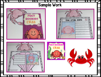 Crab Fact Booklet