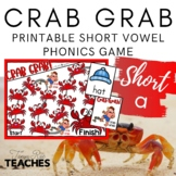 Crab Grab! A Short /a/ Vowel Practice Game {Meets Common Core}