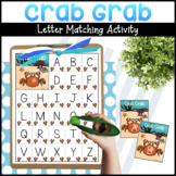 Crab Grab Letter Matching