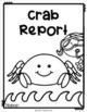 Ocean Animal Research / Report / Crab