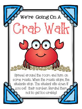 Crab Walk Musical Listening Game
