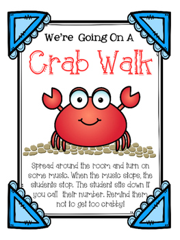 Crab Walk Musical Listening Game