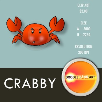 Crabby Clip Art