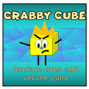 Crabby Cube- 3D, Surface Area and Volume Game