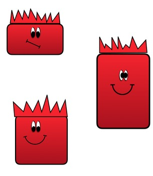 Crabby Monsters Clip Art