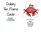 Crabby Ten Frame Cards