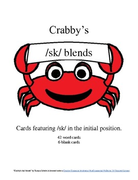 Crabby's Initial /sk/ Blends