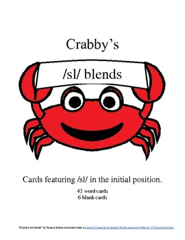 Crabby's Initial /sl/ Blends