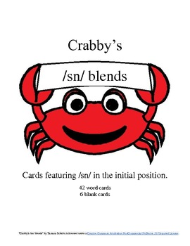 Crabby's Initial /sn/ Blends