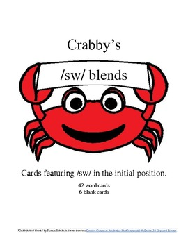 Crabby's Initial /sw/ Blends