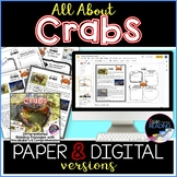 Crabs Differentiated *DIGITAL AND PAPER* Reading Comprehen