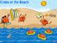 Grammar (Nouns, Verbs, Adj), Math, Writing ~~ Crabs at the