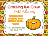 Crack The Code: Fall Edition