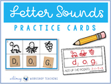 Crack The Code Phonics - 100 Letter Sounds Practice Cards