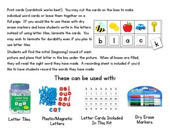Crack The Code Primer Sight Words:  Use Initial Sounds to Crack The Code!