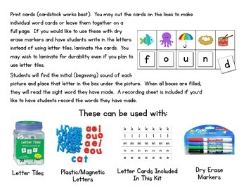 Crack The Code Second Grade Sight Words:  Use Initial Sounds to Crack The Code!