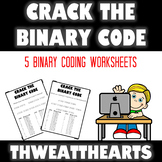 Crack the Binary Code Computer Worksheets