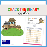 Crack the Binary Codes {Riddle Worksheets}