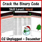 Crack the Binary Code – December & Christmas Message: Skill Level - Hard