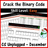 Crack the Binary Code – December & Christmas Message (Skill Level: Easy)