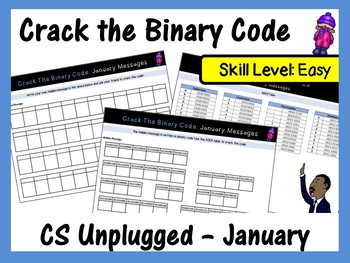 Crack the Binary Code – January & The New Year Message (Skill Level: Easy)