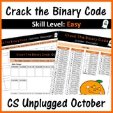 Crack the Binary Code – October Message (Skill Level: Easy)