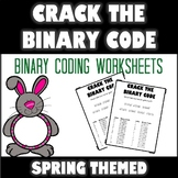 Crack the Binary Code Spring Worksheets