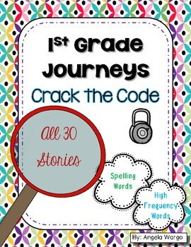 Crack the Code - 1st Grade Journeys Word Puzzles