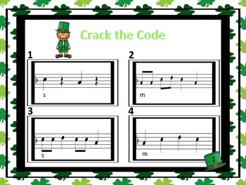 Crack the Code - A Listening Challenge in Treble Notation for So, Mi, La