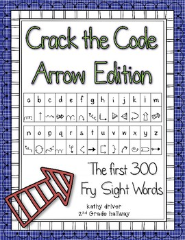Crack the Code Arrow Edition First 300 Fry Sight Words