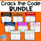 Crack the Code: Articulation & Language BUNDLE!