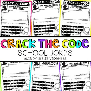 Free Crack the Code: Back to School Jokes