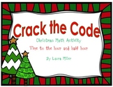 Crack the Code Christmas Math Activity