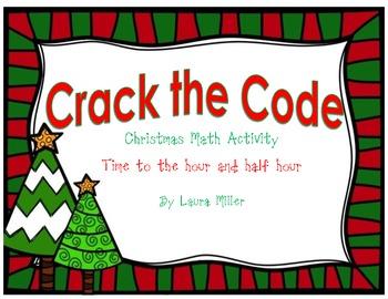 Crack the Code Christmas Math Activity