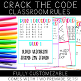 Crack the Code: Classroom Rules (Whole Brain Teaching Edition)