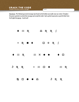 CRACK THE CODE: Decipher & Unlock an Unknown Language