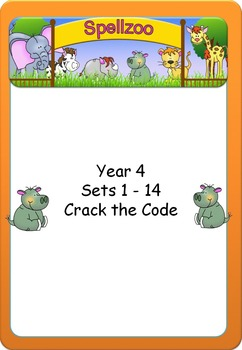 Crack the Code Grade/Year 4 Spelling