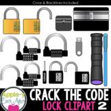 Crack the Code - Lock Clipart 2