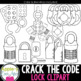 Crack the Code - Lock Clipart