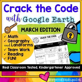 Crack the Code: March Edition : Google Earth : Math . Landforms . Teamwork . FUN