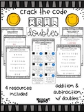 Crack the Code Math: Doubles Facts