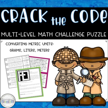 Crack the Code: Metric Conversions Math Challenge