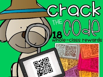 Crack the Code Mystery Rewards {QR Codes}
