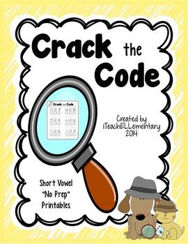 {Crack the Code} No PREP CVC Printables!