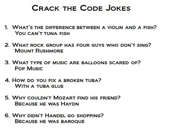 Crack the Code Orchestra Note Reading