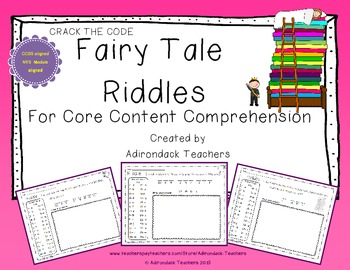 Crack the Code Riddles about Fairy Tales and Other Stories