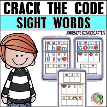 Sight Word Magnetic Letter Center (Journeys Sight Words Kindergarten Supplement)