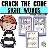 Sight Word Magnetic Letter Center (Journeys Sight Words Ki